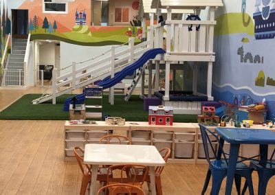 A view of our playground from the cafe area